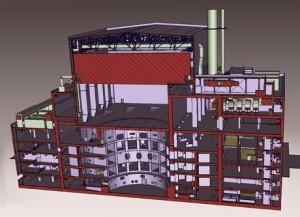 Budova tokamaku, jedna ze 13 budov, které nová smlouva pokrývá. Zdroj: WNN