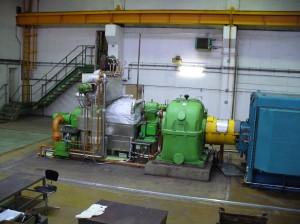 Pohled na část turbíny v Biocelu Paskov. (Zdroj: ZAT a. s.)