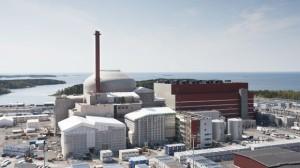 Pohled na finský reaktor typu EPR v lokalitě Olkiluoto. (Zdroj: Yle.fi)