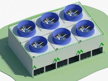 Dukovanské chladicí věže budou mít nové vnitřní konstrukce