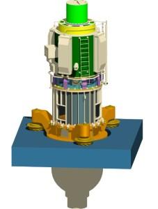 Virtuální model hlavního cirkulačního čerpadla typu GCNA-1391. (Zdroj: Atominfo.ru)