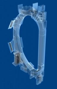 Model cívky toroidálního pole pro tokamak ITER