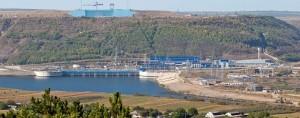Jedním z energetických projektů, do nějž budou moci jít finance ruských bank, je Dněsterská přečerpávací elektrárna, která je ve výstavbě od osmdesátých let min. stol. a která bude po dokončení největší evropskou přečerpávací elektrárnou v Evropě a šestou největší ve světě. (Zdroj: Himprom.ua)