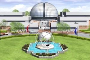 Představa umělce o budoucí podobě nového výzkumného centra