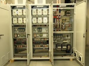 Výkonová část budící soupravy pro turbogenerátor 160MW. (Zdroj: ZAT, a. s.)