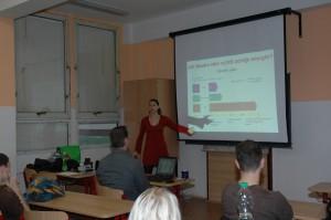 Ing. Edita Bromová specialistka na jadernou fúzi je lektorkou již od roku 2005.