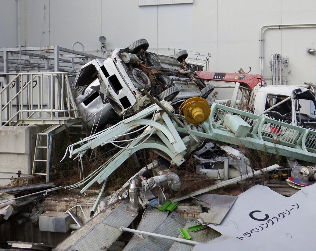 Pokrok v odklízení trosek v areálu Fukušimy Dajiči