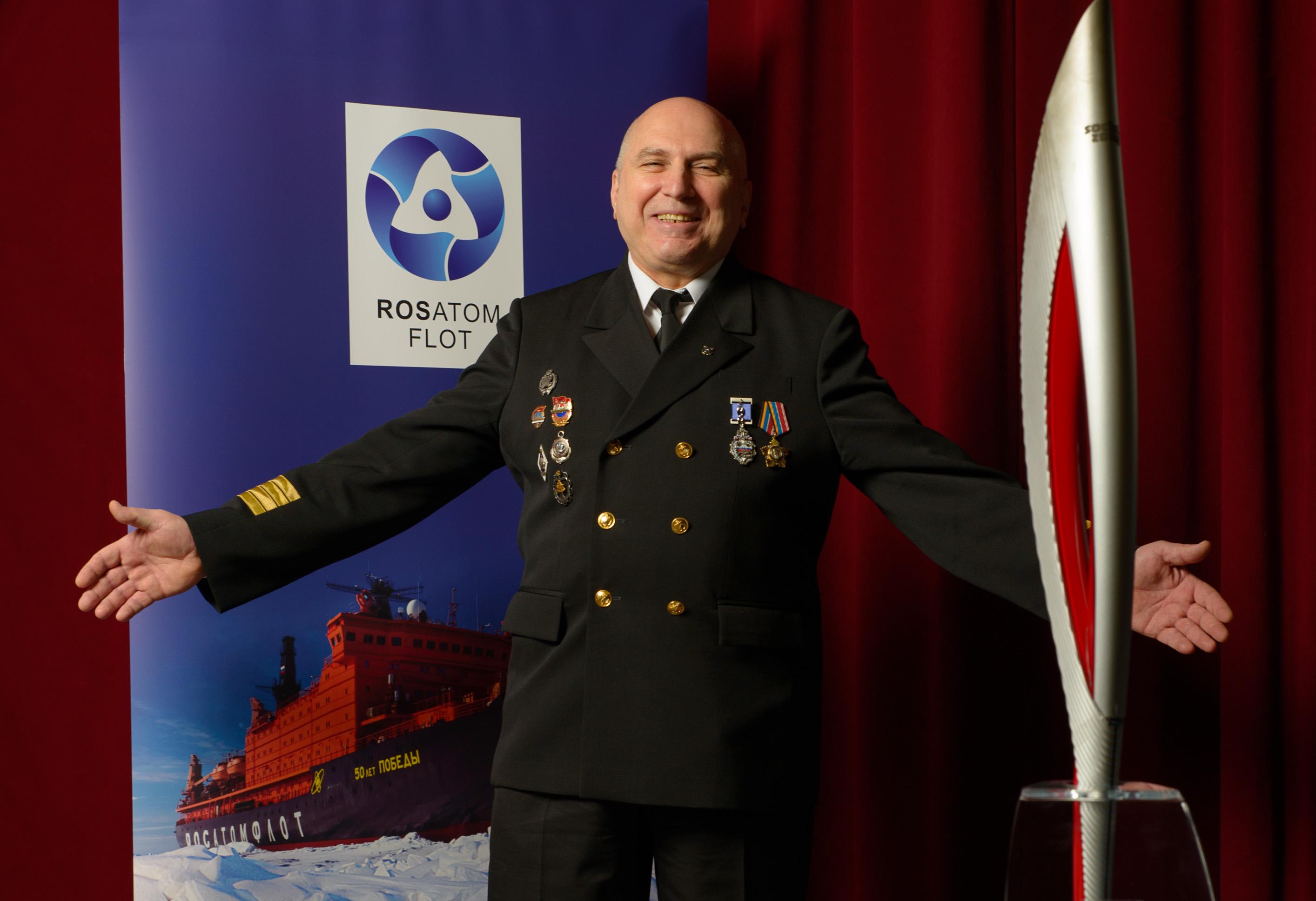 Oficiální pochodeň olympiády v Soči dorazila do Prahy