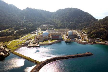 První dva bloky brazilské jaderné elektrárny Angra. (Zdroj: Electronuclear.gov.br)
