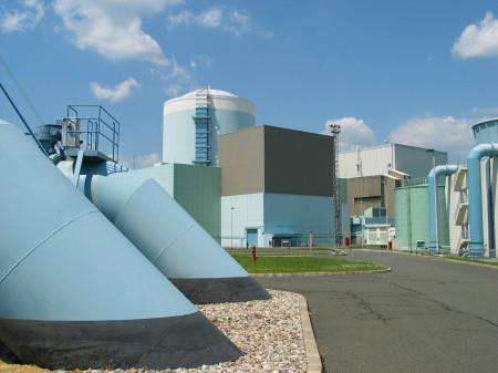Slovinská jaderná elektrárna Krško s jedním blokem od společnosti Westinghouse o výkonu 696 MWe představuje přibližně 40 % výroby elektřiny v této zemi. (Zdroj: Nek.si)