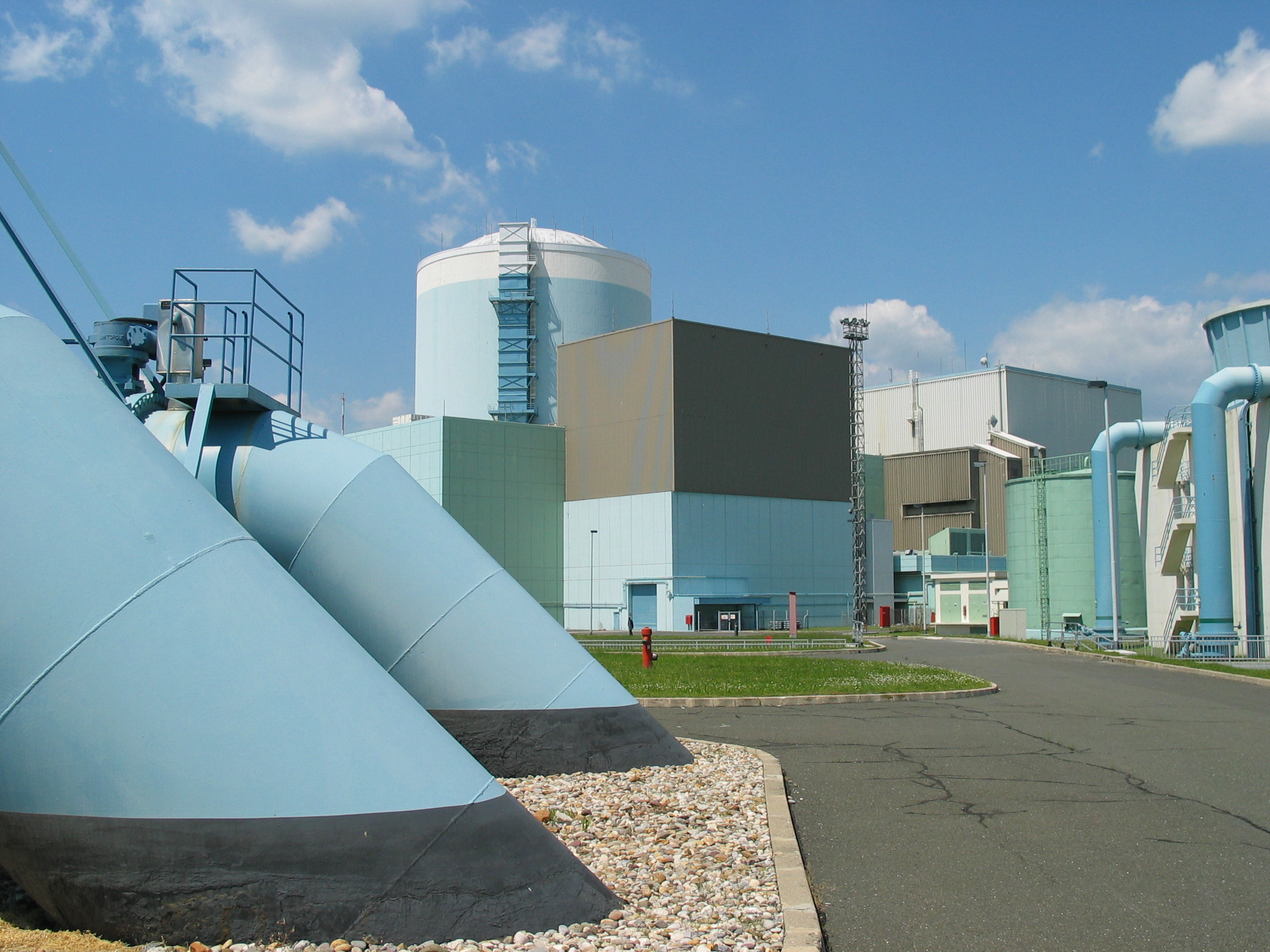 Slovinská jaderná elektrárna Krško má nový ventilační systém