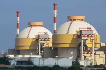 V současné době spouštěná jaderná elektrárna Kudankulam v Indii je příkladem exportu ruských jaderných technologií. (Zdroj: Thehindu.com)