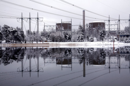 Jaderná elektrárna Loviisa je příkladem dřívější spolupráce Finska a Ruska. (Zdroj: Fortum.com)