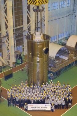Toshiba vyrobila první součást reaktoru typu PWR