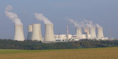 Jaderná elektrárna Dukovany. (Zdroj: i-vysocina.cz)