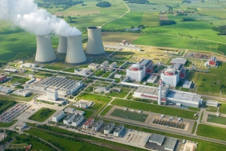 Jaderná elektrárna Temelín. (Zdroj: Modrenoviny.cz)