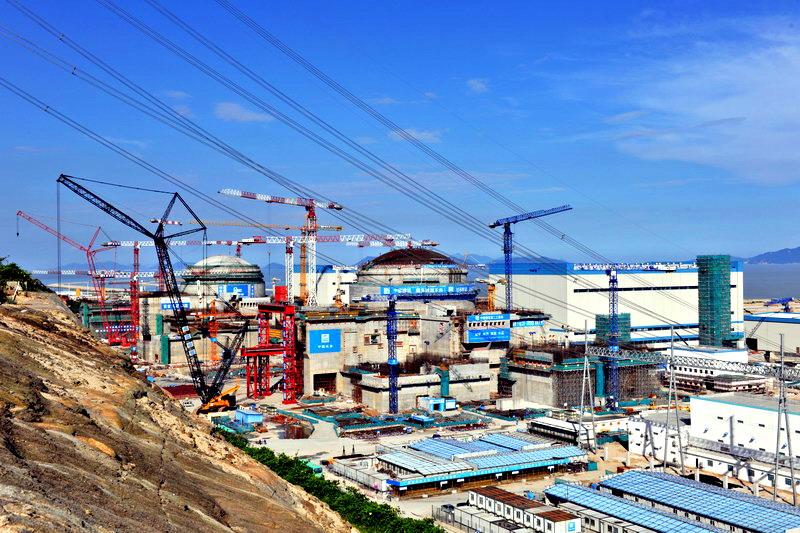Čínský Tchaj-šan bude zřejmě prvním reaktorem EPR v provozu