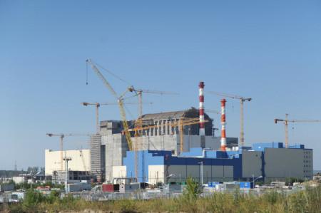 Blok BN-800 v pokročilé fázi výstavby. Dnes již je výstavba dokončena a reaktor je připravován na zahájení provozu. (Zdroj: Belnpp.rosenergoatom.ru)