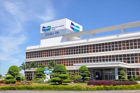 Hlavní kancelářská budova společnosti Doosan Vina. (Zdroj: Doosan.com)