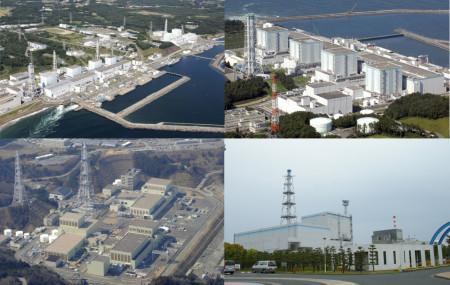 Čtyři japonské elektrárny, které byly zkoumány: Fukušima Dajiči, Fukušima Dajini, Onagawa a Tokaj Dajini. Celkově se jedná o 14 varných reaktorů (BWR) a jeden typu Magnox (první blok JE Tokaj Dajini).