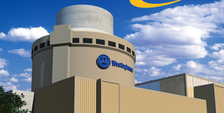 V Číně je aktuálně oficiálně schváleno šest bloků s reaktory AP1000: po dvou v lokalitách San-men (pinyin: Sanmen), Chaj-jang (Haiyang ) a nově Sü-ta-pao (Xudabao). (Zdroj: Ap1000.westinghousenuclear.com)