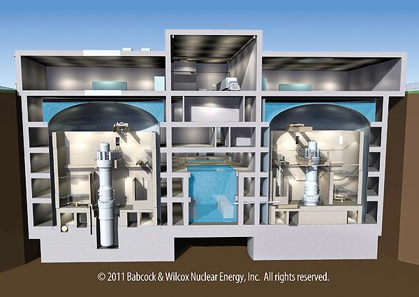 Projekt malého reaktoru mPower má problémy a došlo ke snížení rozpočtu