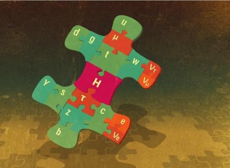 I když Higgsův boson je dosud chybějícím dílkem ve skládačce Standardního modelu, skládačka vesmíru není ani zdaleka kompletní a vědci musí ještě najít velké množství dílků. (Zdroj: Nobelprize.org)