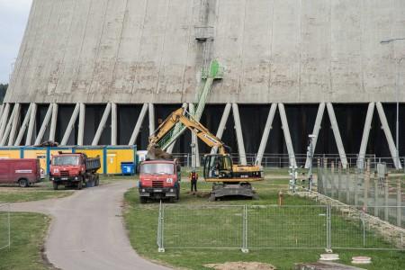 Zahájení stavebních prací v areálu Jaderné elektrárny Dukovany. (Zdroj: Cez.cz)