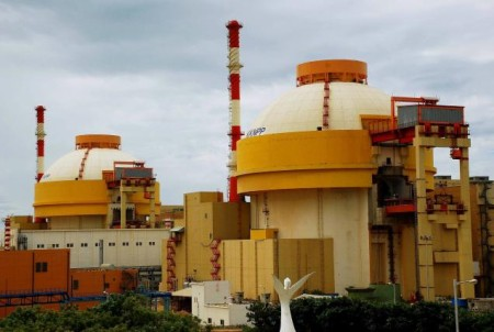 Dva bloky spouštěné elektrárny Kudankulam. (Zdroj: Thehindu.com)