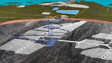 Možná podoba hlubinného úložiště jaderného odpadu. (Zdroj: ČT)