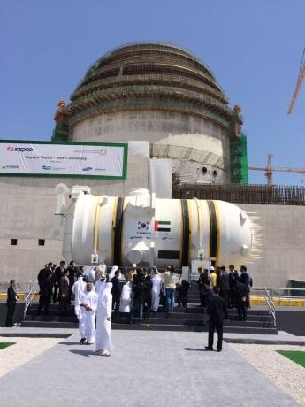 Na staveniště JE Barakah dorazila první reaktorová nádoba