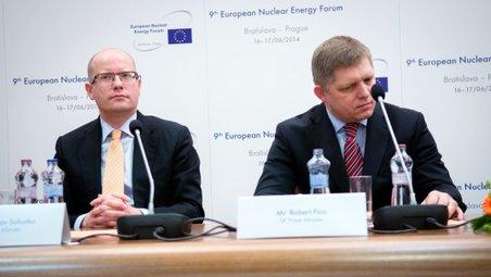 Sobotka: Bez jaderné energie nelze naplnit klimatické cíle