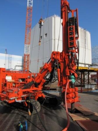 Fukushima Daiichi ice wall drilling - 460 (Tepco)