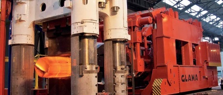 Areva má nový kovací lis pro velké jaderné výkovky