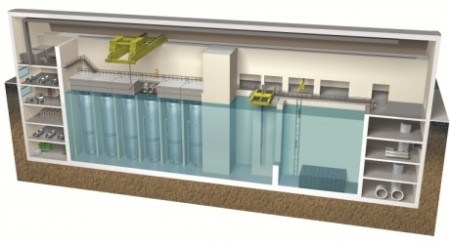 NuScale SMR cross section - 460