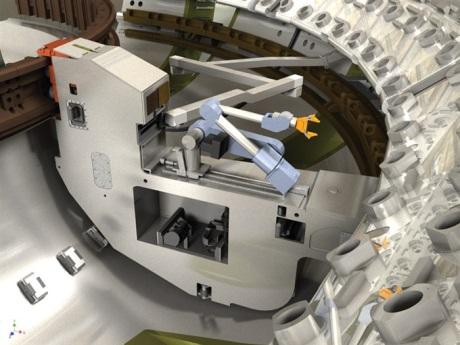 Systém dálkové manipulace pro ITER