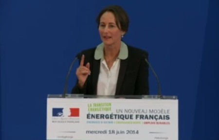 Segolene announces draft energy policy - June 2014 - 460 (French energy ministry)