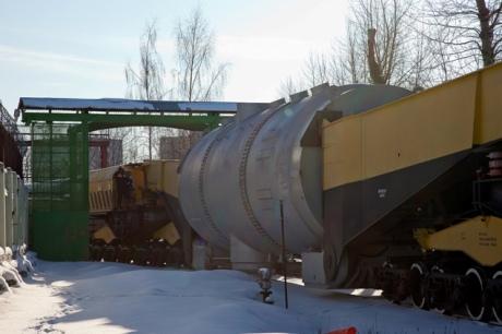 Poslední potřebný parogenerátor dorazil na Novovoroněžskou JE-2