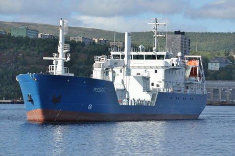 Rossita, loď na přepravu RAO, úspěšně dokončila zkušební plavbu