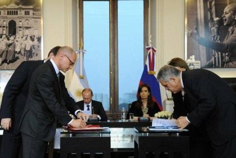 Rusko a Argentina podepsaly mezivládní dohodu voblasti spolupráce v mírovém používání jaderné energie