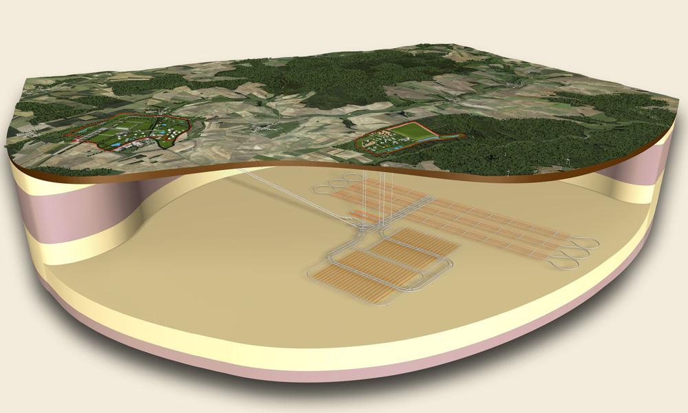 Francie začíná projektovat hlubinné úložiště radioaktivního odpadu
