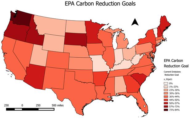 Americká nukleární společnost o návrhu organizace EPA na snížení emisí v energetickém sektoru
