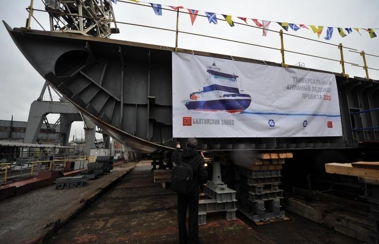 Ruské loděnice: Západní sankce nenaruší časový plán dodávek