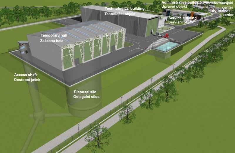 Byl oznámen investiční program pro projekt Slovinského úložiště RAO
