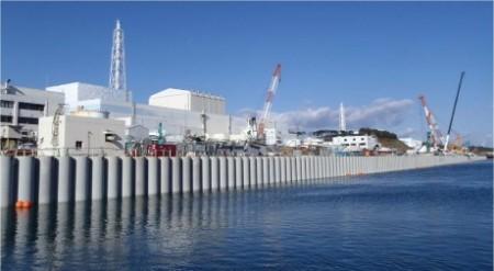 Fukushima impermeable sea wall 460 (Tepco)