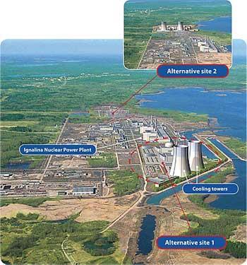 Hitachi pomůže Litvě postavit jadernou elektrárnu