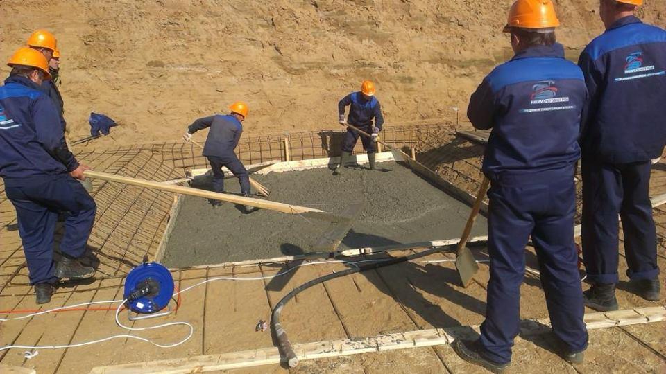 Probíhá betonování základů nového ruského radiochemického výzkumného centra