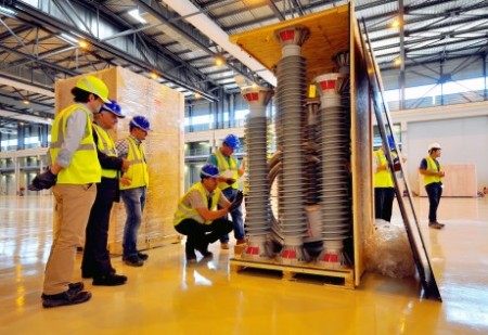 ITER first delivery 460