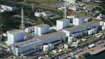 Fukushima nuclear plant in northeastern Japan is pictured in a 2008 file photo