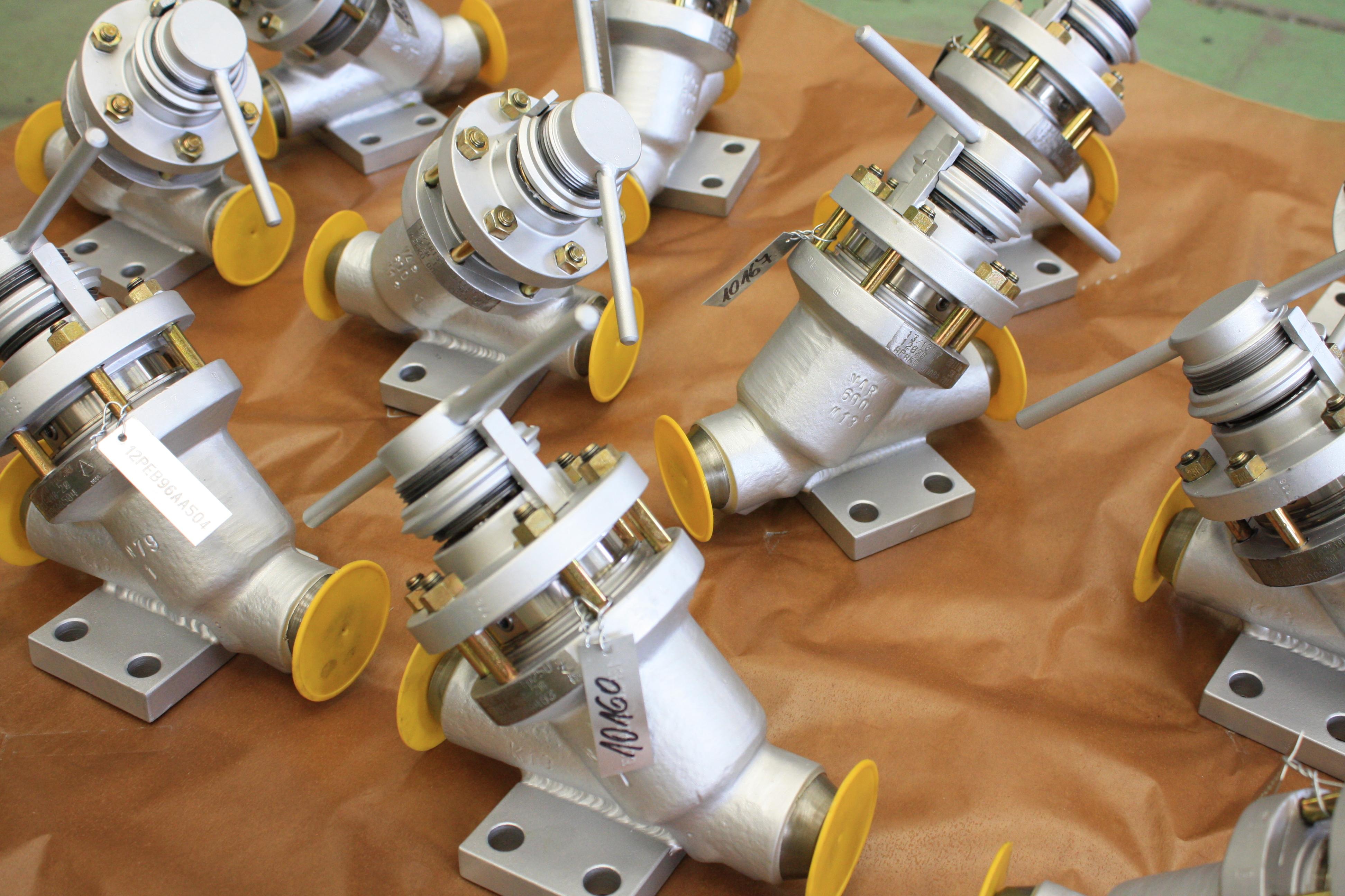 Arako získalo certifikát společnosti Energoatom na dodávky armatur